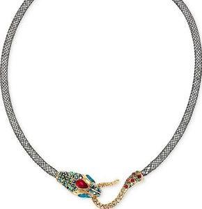 Betsey Johnson Snake Necklace / Choker